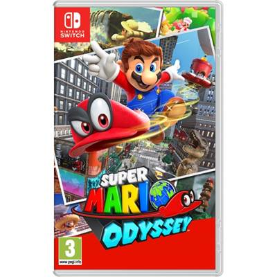 Igra za NINTENDO Switch, Mario Odyssey Switch