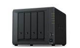 "Eksterno kućište SYNOLOGY DS918+ DiskStation 4-bay NAS server, 2.5""/3.5"" HDD/SSD support, Hot Swappable, Wake on LAN/WAN, 4GB, 2xG-LAN"