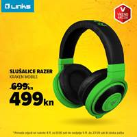Picture of Vikend akcija - Slušalice RAZER Kraken Mobile (4.-5.11.)