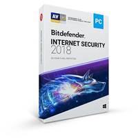 BITDEFENDER Internet Security 2018, godišnja pretplata za jednog korisnika, retail