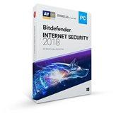 BITDEFENDER Internet Security 2018, godišnja pretplata za tri korisnika, retail