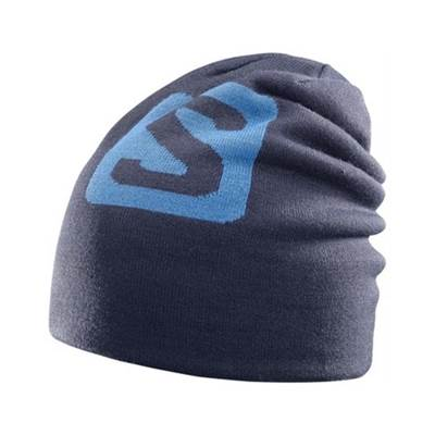 Kapa SALOMON BIG FOURAX BEANIE plava