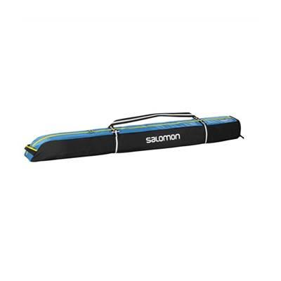 Torba za skije SALOMON 1 par, duž.165+20, plavo/crna