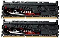 Memorija PC-12800, 8 GB, G.SKILL Sniper series, F3-12800CL9D-8GBSR1 (1.35 V), DDR3 1600MHz, kit 2x4GB
