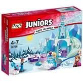 LEGO 10736, Juniors, Anna And Elsa's Frozen Playground, Anino i Elsino ledeno igralište