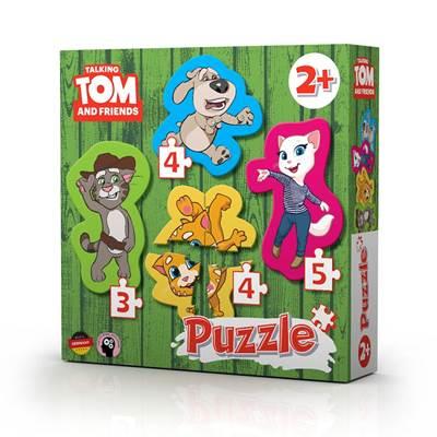 Slagalica TALKING TOM, Tom i prijatelji, 4u1, 3+4+4+5 komada