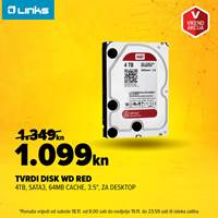 Picture of Vikend akcija - Tvrdi disk WD Red 4TB (18.-19.11.)