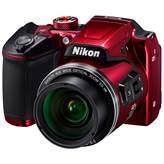 Digitalni fotoaparat NIKON Coolpix B500, 16 Mpixela, 40x optički zoom, SD/SDHC/SDXC, USB, crveni