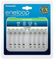Punjač baterija PANASONIC Eneloop Smart BQCC63E, brzi, 8 mjesta za punjenje