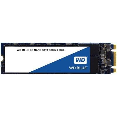 """SSD 500.0 GB WESTERN DIGITAL Blue, WDS500G2B0B, SATA 3, M.2, 2.5"""", 560/530 MB/s"""