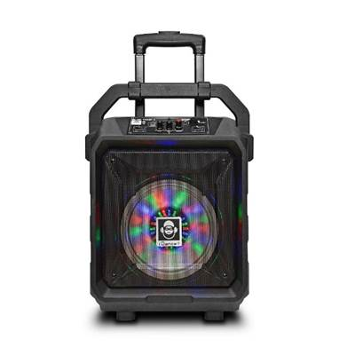 Karaoke iDANCE, Blue Tank 1, disco LED, bluetooth, FM, baterija, mikrofon