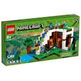 LEGO 21134, Minecraft, The Waterfall Base, baza u podnožju vodopada