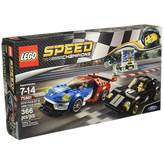 LEGO 75881, Speed Champions, 2016 Ford GT and 1966 Ford GT40