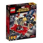 LEGO 76077, Marvel Super Heroes, Iron Man - Detroit Steel Strikes, Detroit Steel napada