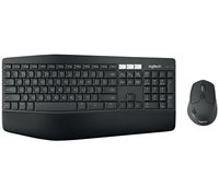 Tipkovnica + miš LOGITECH MK850 Wireless Desktop, bežična, crna, Unifying receiver USB, UK Layout