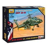 Maketa ZVEZDA, AH-64 Apache U.S. Attack Helicopter, 1:144