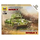 Maketa ZVEZDA, British Infantry Tank MATILDA II, 1:100