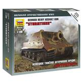Maketa ZVEZDA, German Heavy Assault Gun Sturmtiger. 1:100