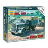 Maketa ZVEZDA, German truck Opel Blitz 1937-1944, 1:100