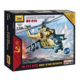 Maketa ZVEZDA, MI-24 V Soviet Attack Hellicopter, 1:144