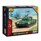Maketa ZVEZDA, Soviet Main Battle Tank T-72B, 1:100