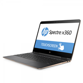 "Prijenosno računalo HP Spectre x360 13-ae0xx, 2ZG89EA / Core i7 8250U, 8GB, 256GB SSD, HD Graphics, 13.3"" IPS, BT, kamera, USB 3.1, Windows 10, sivo"