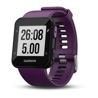 Sportski sat Forerunner 30 WHRM, GPS, senzor otkucaja, ljubičasti
