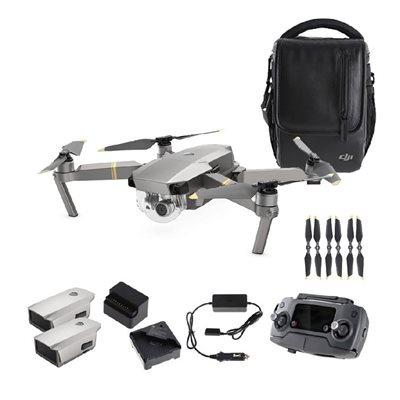 Dron DJI Mavic Pro Fly More Combo Platinum, 4K UHD kamera, 3D gimbal, upravljanje daljinskim upravljačem, dodatna oprema