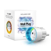 Bežična pametna utičnica FIBARO Wall Plug Type F FGWPF-102 ZW5, paljenje/gašenje uređaja putem mobilne aplikacije, WiFi