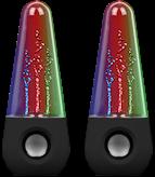 Zvučnici SATZUMA Water Speaker, crni