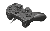 Gamepad TRUST ZIVA, 21969, USB, za PC/PS3 crni