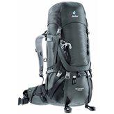 Planinarski ruksak DEUTER Aircontact 45 + 10, crni
