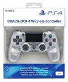 Gamepad SONY PlayStation 4, DualShock 4 v2, bežični, crystal
