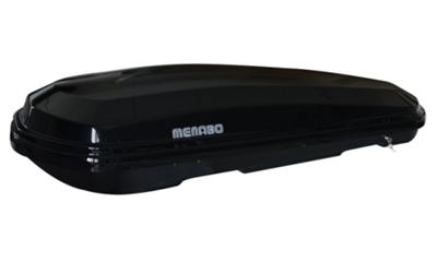 Krovna kutija MENABO Diamond 500lit.209x79x36,6, Crna