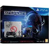 Igraća konzola SONY PlayStation 4 Limited Edition, 1000GB, E Chassis, Star Wars: Battlefront II Deluxe, siva
