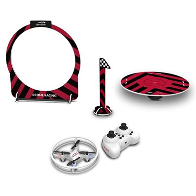 Dron SPEED-LINK SL-920002-WE, Racing Drone Game Set, upravljanje daljinskim upravljačem, bijeli