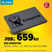 Picture of Vikend akcija - SSD 240.0GB KINGSTON A400