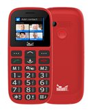 Mobitel MEANIT Veteran IV, Dual SIM, crveni