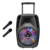 Karaoke iDANCE, Groove 530, 800W, disco LED, bluetooth, 2x mikrofon