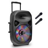 Karaoke iDANCE, Groove 540, 1000W, disco LED, bluetooth, 2x mikrofon