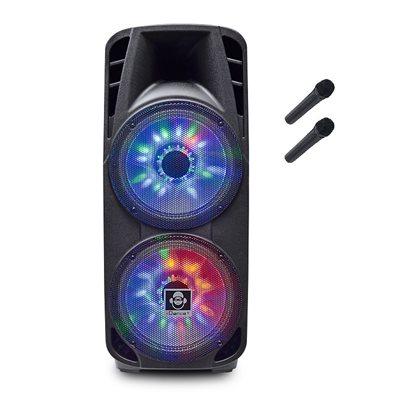 Karaoke iDANCE, Groove 980, 1000W, disco LED, bluetooth, 2x mikrofon