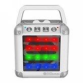 Zvučnik iDANCE CM-02, 5W, disco LED, bluetooth, bijeli