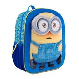 Dječji ruksak HAPPY SCHOOL, Minions, 3D