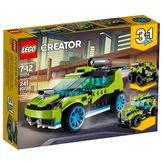 LEGO 31074, Creator, Rocket Rally Car, auto na raketni pogon, 3u1