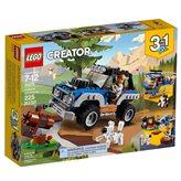 LEGO 31075, Creator, Outback Adventures, pustolovine u divljini, 3u1
