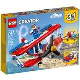 LEGO 31076, Creator, Daredevil Stunt Plane, akrobatski avion, 3u1