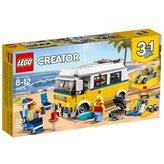 LEGO 31079, Creator, Sunshine Surfer Van, surferski kombi, 3u1