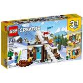 LEGO 31080, Creator, Modular Winter Vacation, zimski odmor, 3u1