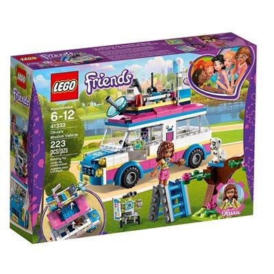 LEGO 41333, Friends, Olivia's Mission Vehicle, Olivijino vozilo za misije