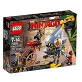LEGO 70629, Ninjago, Piranha Attack, napad pirana